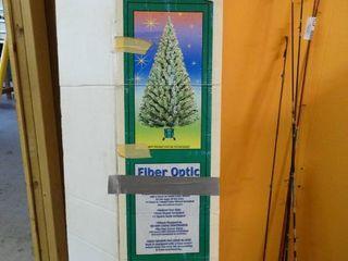 Tall Fiber Optic Tree