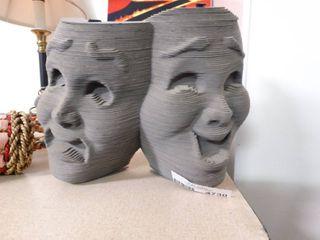Very Neat Theater Masks Decor