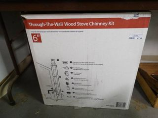 Through The Wall Wood Stove Chimney Kit