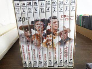 Set of TV Classics on 20 DVDs
