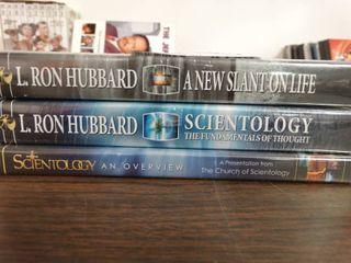 l  Ron Hubbard Scientology DVDS