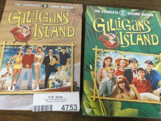 Gilligans Island 2nd and 3rd Season on DVD