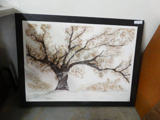 large Framed Painting