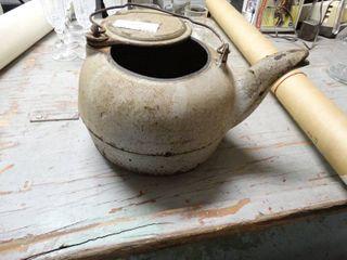 Cast Iron Coffee Pot