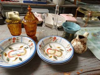 lot of Ceramics and Glass