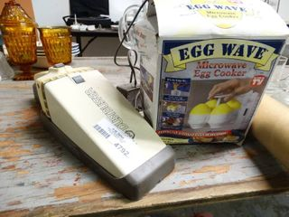 Dust Buster Vac and Microwave Egg Cooker  New in Box