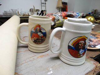 2 Captain Morgan Mugs