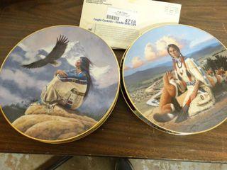 Group of 5 Hamilton Collector Plates