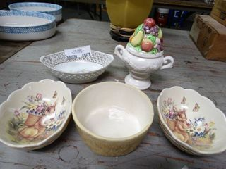 lot of Vintage Decor Dishes