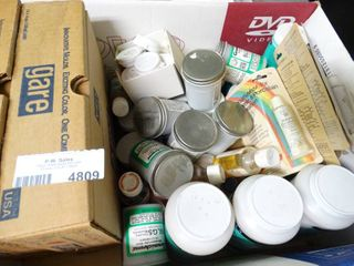 lot of Ceramic Glazes and Paints