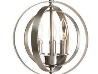 Copper Grove Ansalonga 3 light Sphere Pendant lighting Fixture Retail 126 49