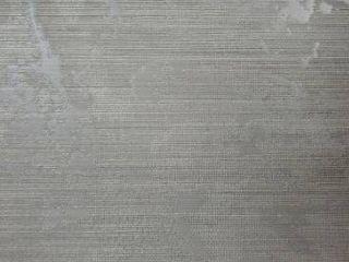 Wallpaper gray silver Metallic Textured Plain faux sackcloth