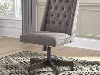 Signature Design by Ashley Graphite Home Office Swivel Chair Retail 251 99
