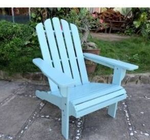 International Caravan Royal Fiji Adirondack Patio Chair Retail 164 99