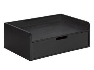 Kate and laurel Kitt Floating Shelf Side Table   18x12x6 5 Retail 100 49