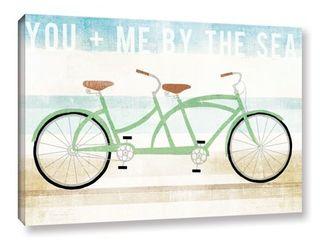 Michael Mullan s Beach Cruiser Tandem  Gallery Wrapped Canvas