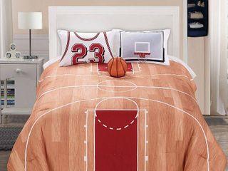 B Ball 4 Pc Comf St Full Bedding