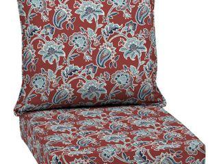 Arden Selections Caspian Outdoor Deep Seat Set   46 5 in l x 24 in W x 5 75 in H