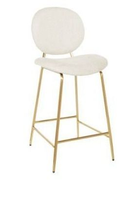 Carson Carrington Pafvalds 26 inch Gold Frame Counter Stool Retail 179 49