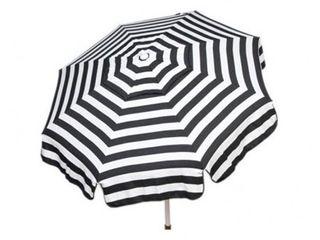 Italian Bistro 6 foot Acrylic Striped Patio Umbrella Retail 119 99