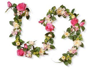 72  Rose and Hydrangea Garland