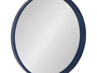 Kate and laurel Travis Round Wood Accent Wall Mirror Retail 100 49