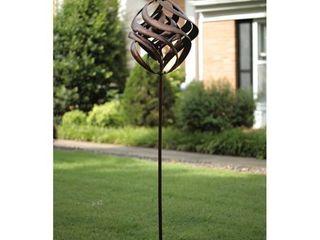 Brown Copper Spiral Wind Spinner Retail 106 99
