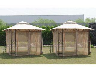 Sunjoy Replacement Mosquito Netting for 10X10 Gazebo Retail 86 49