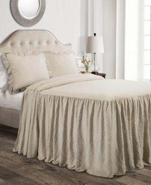 lush Decor Ruffle Skirt Bedspread Set Retail 82 49