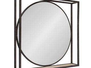 Kate and laurel McCauley Decorative Metal Mirror with Shelf Retail 129 99