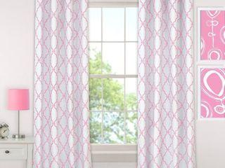 Elrene Candice Blackout Juvenile Teen Window Curtain Panel