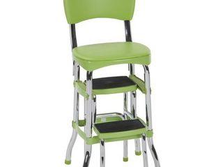 Cosco Green Retro Counter Chair   Step Stool Retail 112 49