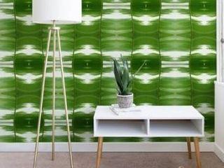 Rosie Brown Garden Stripes Wallpaper Retail 91 99