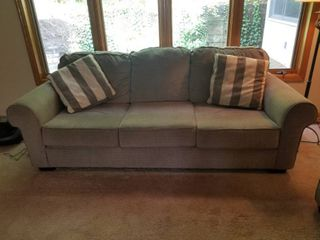 Comfortable Grey Sofa by Ashley Furniture