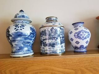 Collection of Oriental Porcelain Vases