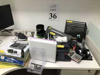 LOT ASSORTED OFFICE SUPPLIES