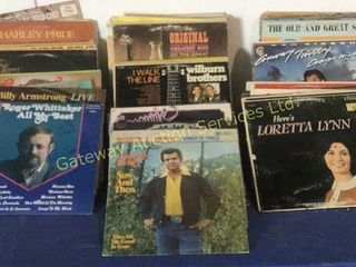 Vinyl Record Collection Includes: Conway Twitty,