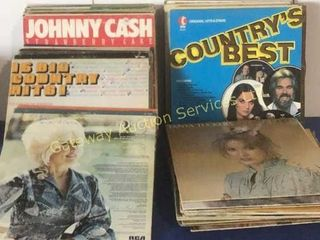 Vinyl Record Collection Includes: Dolly Parton,