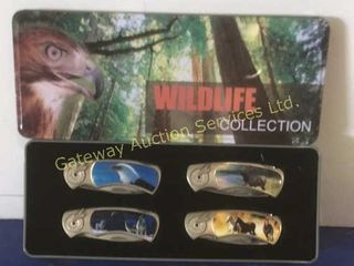 Wildlife Collection Pocket Knives