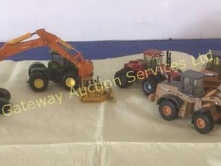 Metal Toy Tractor Collection