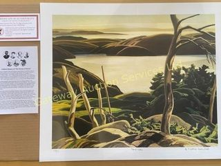 Frood Lake by Franklin Carmichael Print 475/777