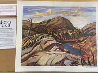 Northern Hills by AY. Jackson Print 443/777