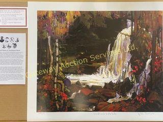 Woodland Waterfalls by Tom Thomson