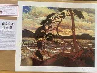 The West Wind by Tom Thomson Print 908/1950