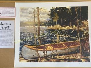 The Canoe by Tom Thomson Print 570/777