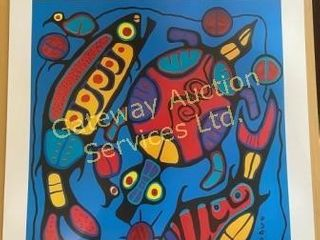 Harmony In Nature by Norval Morrisseau