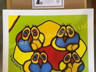 Owls by Norval Morrisseau
