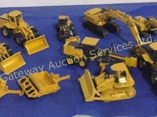 Metal Toy Tractors