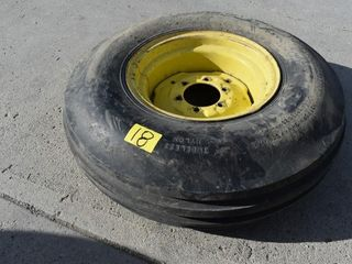 JD 10.00 x 16 Implement Tire and Rim, Loc: *C