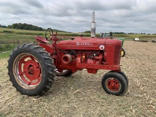 International Farmall Super M Tractor